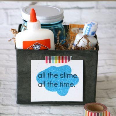 Slime Kit with Printable Tag