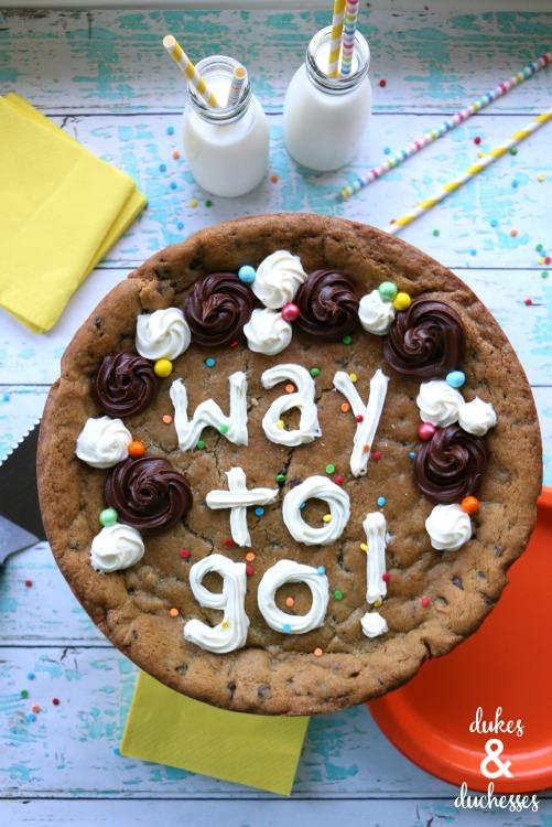 celebration cookie cake