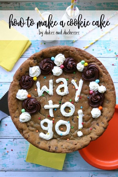 how to make a cookie cake