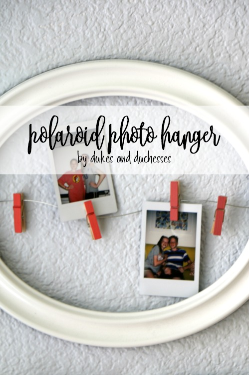 polaroid photo hanger