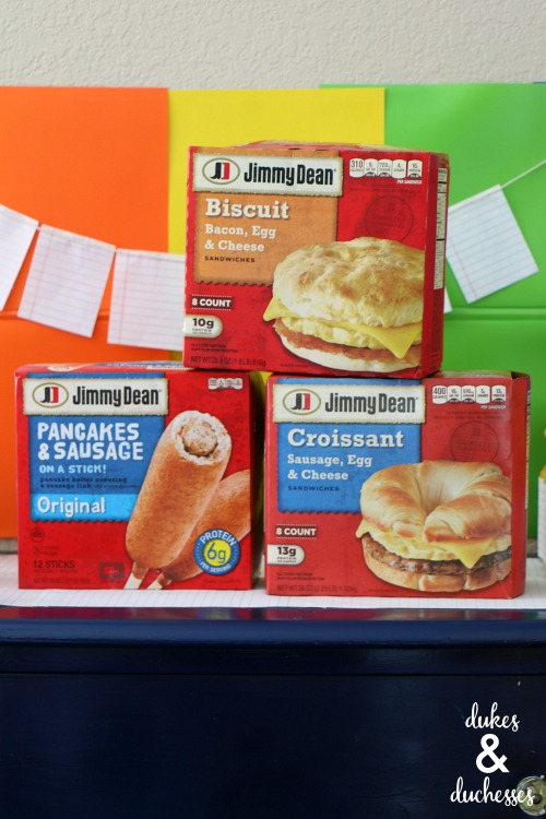 Jimmy Dean breakfast products at Walmart