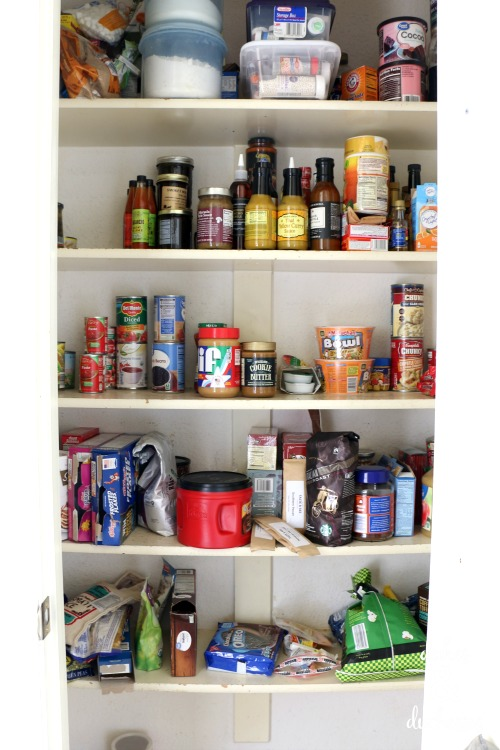 before pantry organization photo