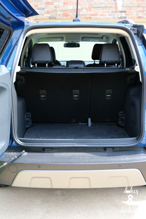 cargo space in 2018 ford ecosport