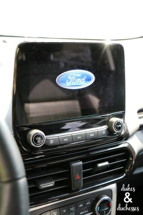display in ford ecosport