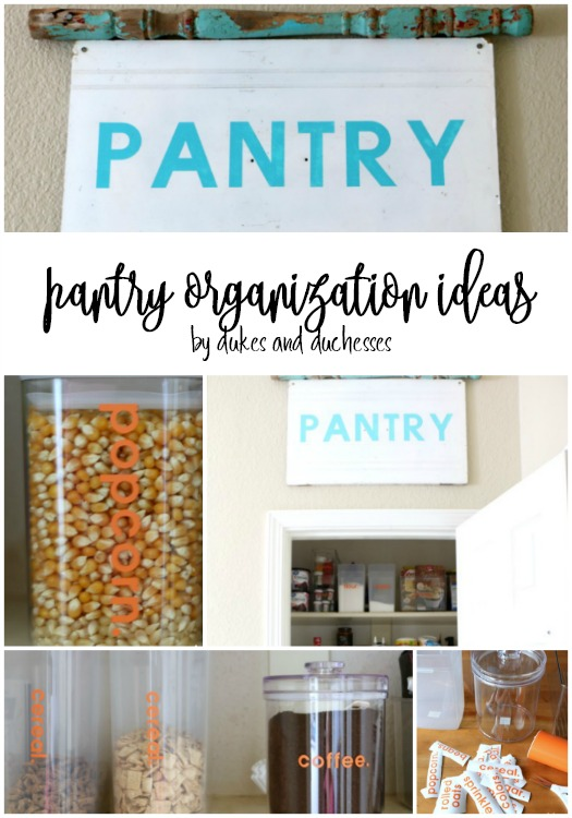 easy pantry organization ideas