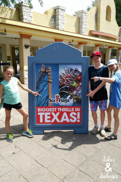 seeking thrills at six flags over texas