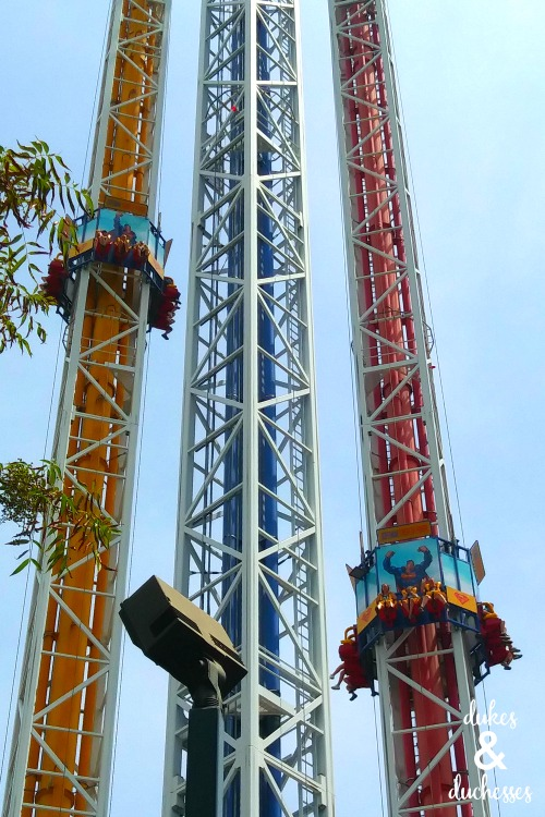 superman ride at six flags over texas