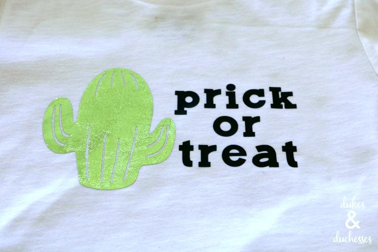 cactus halloween shirt