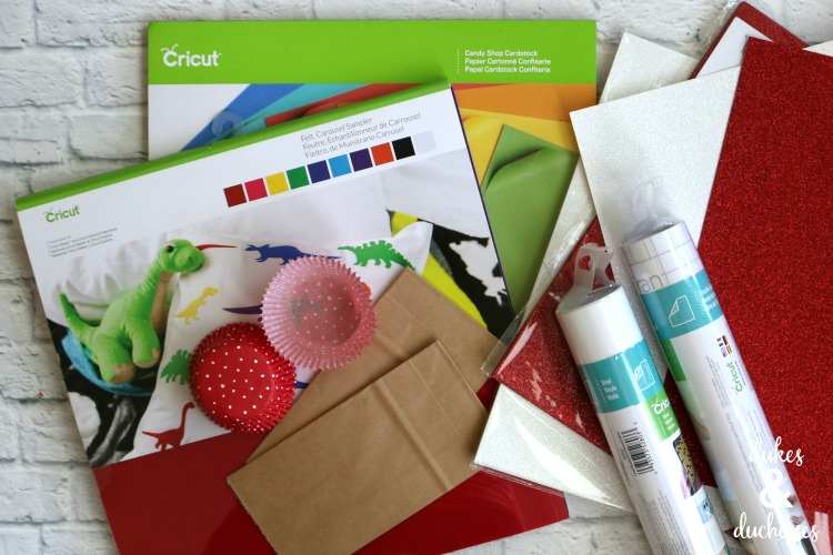 cricut supplies for toadstool party