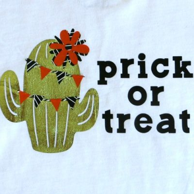Prick or Treat Halloween Cactus Shirt