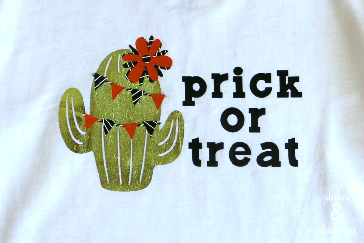 halloween cactus shirt design