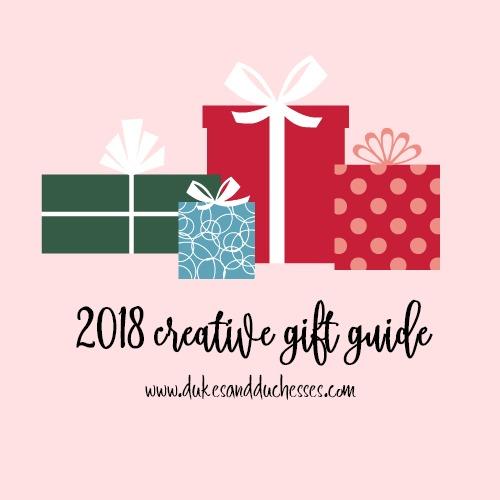 2018 creative gift guide