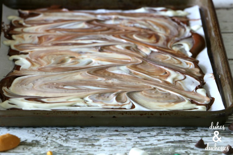 how to make candy bark