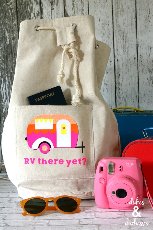 rv there yet travel tote