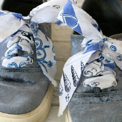 DIY Fabric Shoelaces