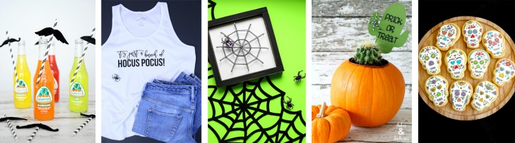 Halloween DIY Hop Wed Collage