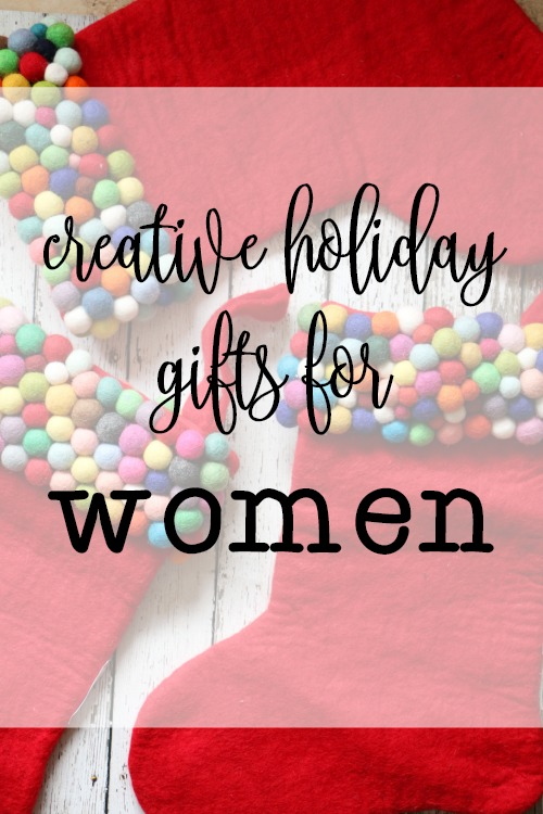 creative holiday gifts for women