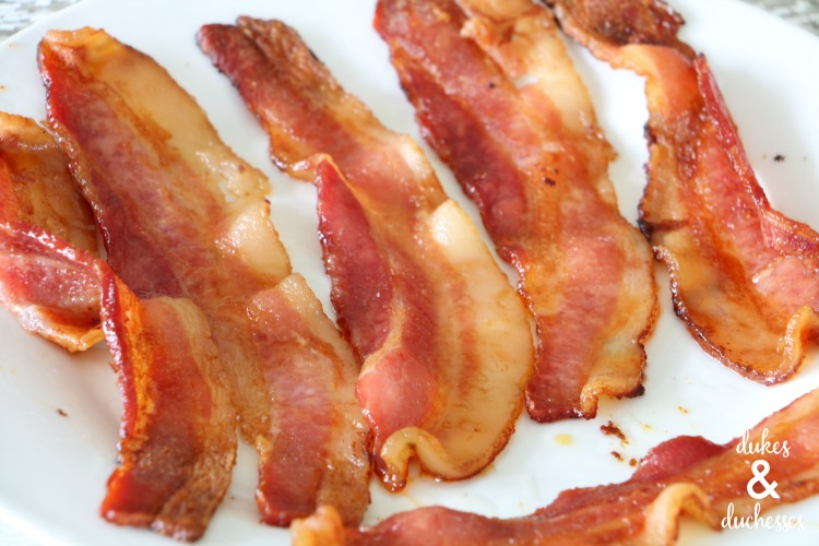 crispy bacon for pumpkin pie with maple bacon crust