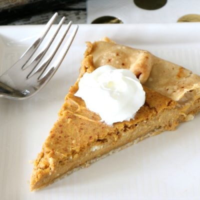 Pumpkin Cheesecake Galette