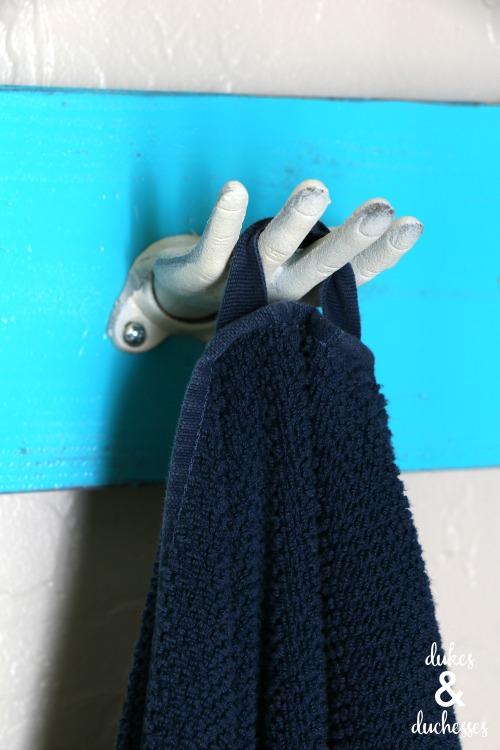 hand towel hook for bathroom
