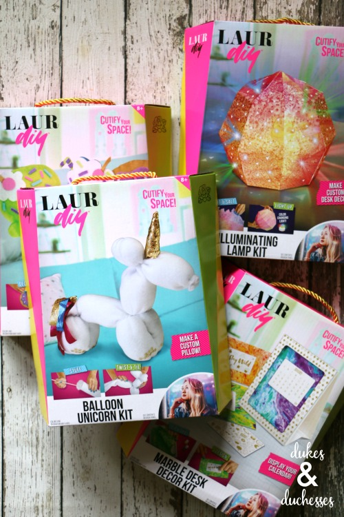 laurDIY craft kits for teens and tweens