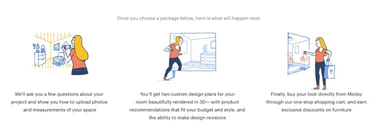 modsy online design service