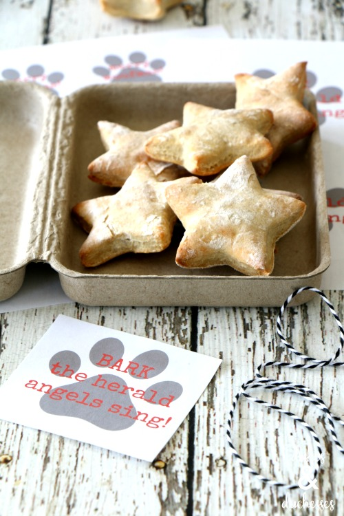 dog biscuit christmas gift