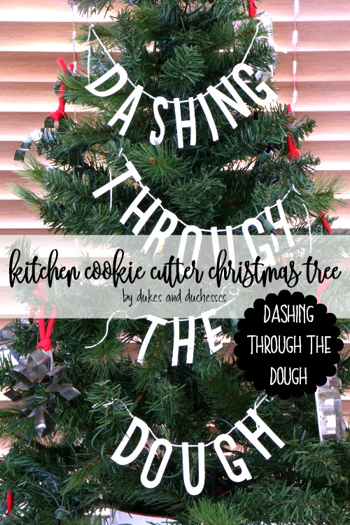 kitchen cookie cutter christmas tree