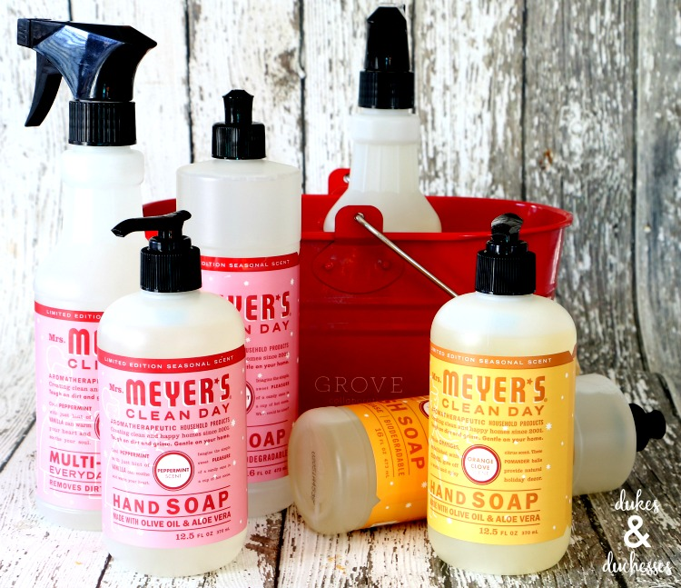 mrs meyer's clean day holiday scents