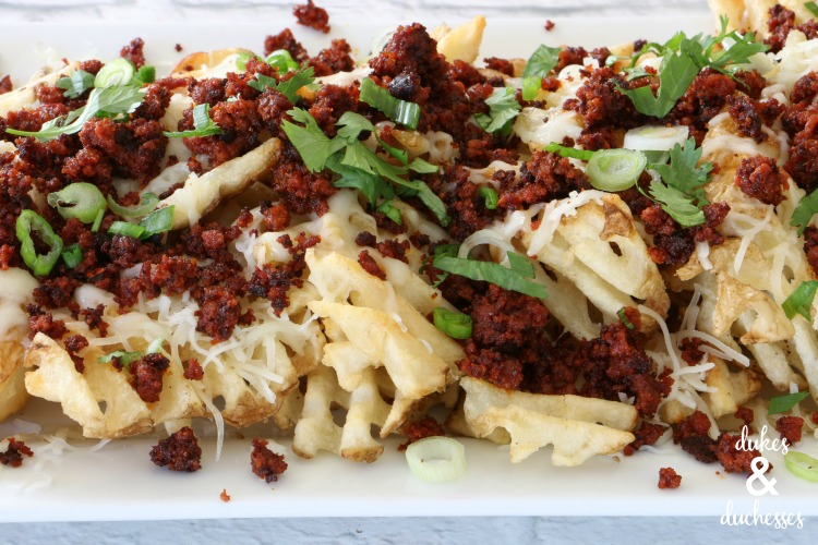 chorizo fries recipe