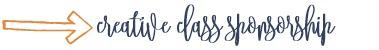creative class sponsorship