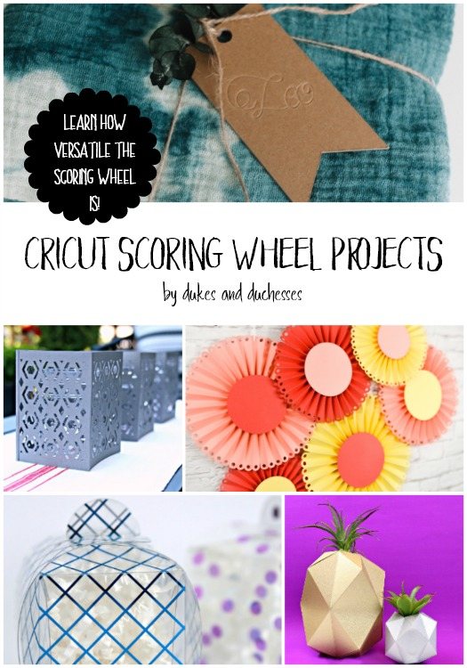 cricut scoring wheel projects