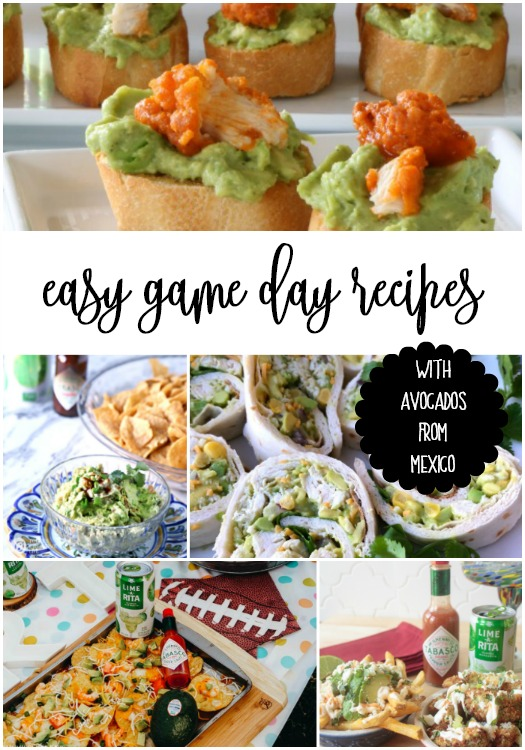 easy game day recipes with avocados from mexico