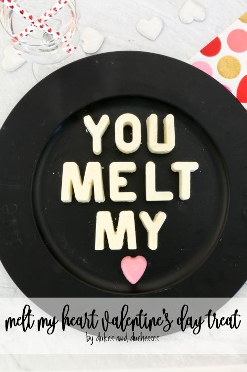 melt my heart valentines day treat