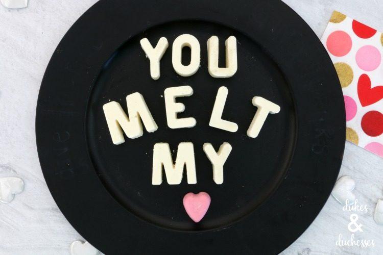you melt my heard chocolate candies