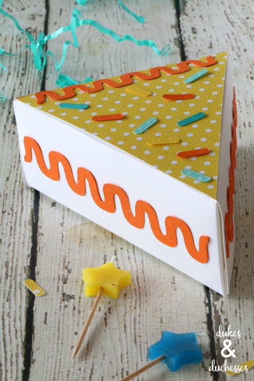 how to make a gift box out of paper