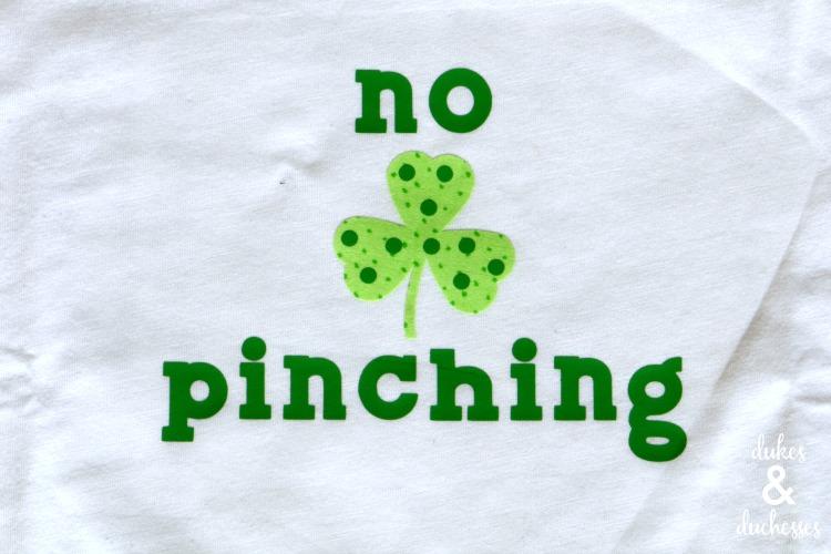 no pinching allowed shirt