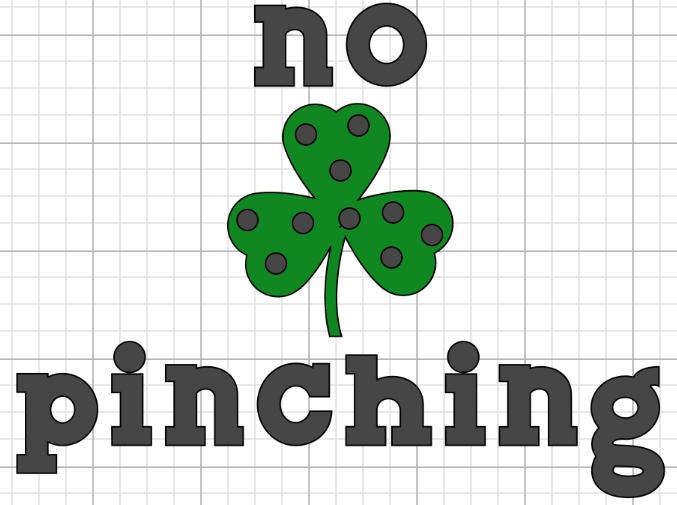 no pinching image on cricut design space