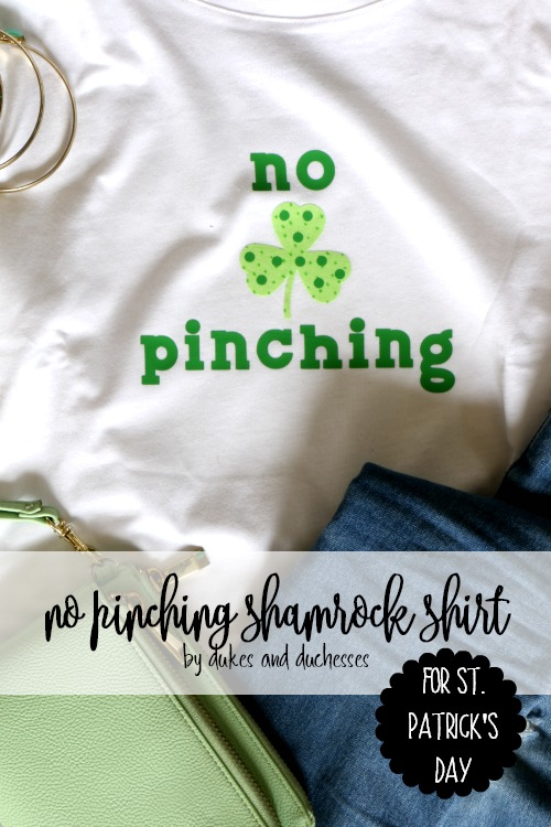 no pinching shirt for st patricks day