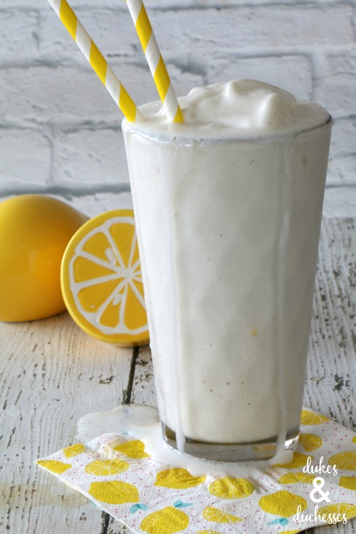 spiked frosted lemonade