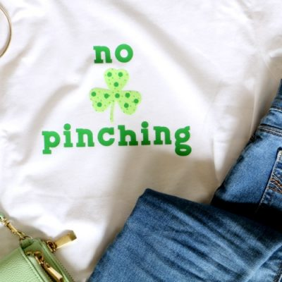 No Pinching Shamrock Shirt for St Patrick's Day