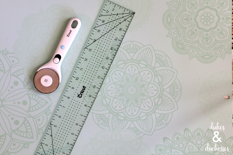 cricut self healing mat and hand tools