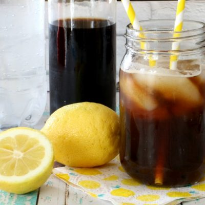Lemon Cold Brew Tonic Recipe