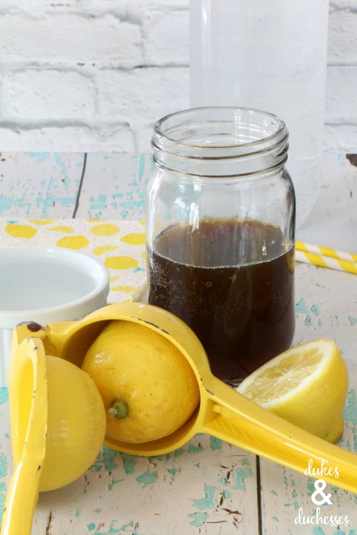 lemon cold brew coffee recipe