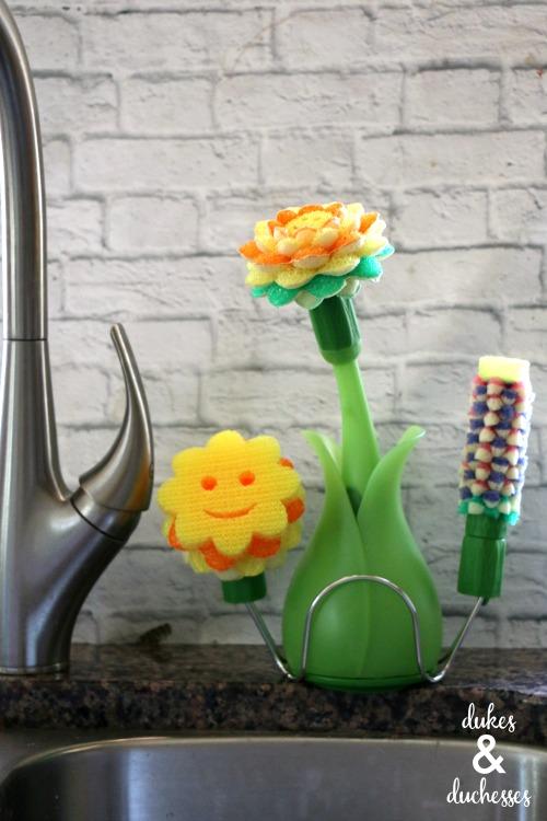 scrub daisy dishwand system