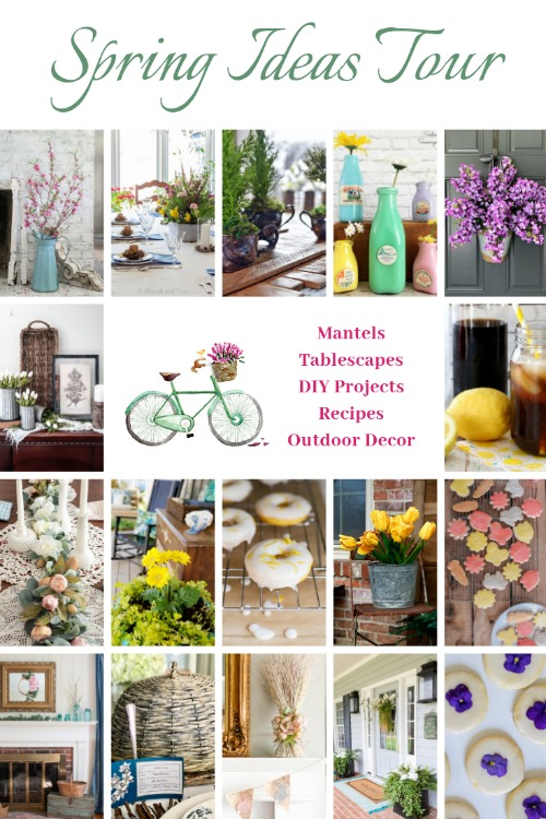 spring decorating diy and recipe ideas tour