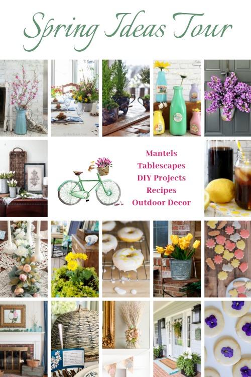 spring decorating diy and recipe ideas tour