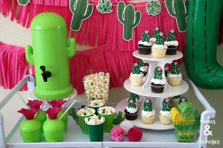 cactus party decoration ideas