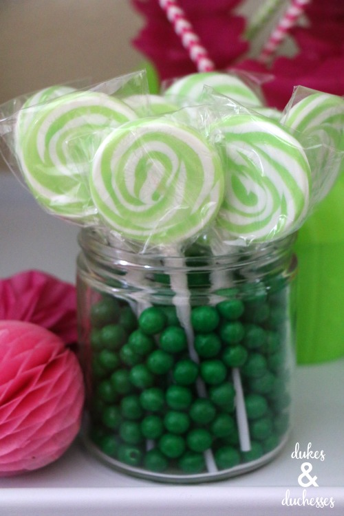 candy party centerpiece ideas