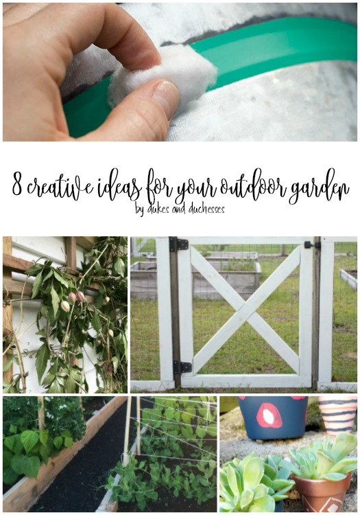 creative ideas for your outdoor garden